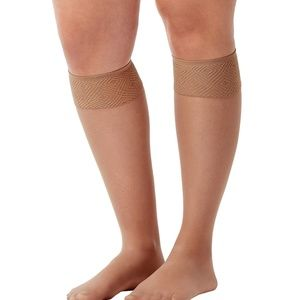 Sheer Hi-Knee Socks - Two Pack!